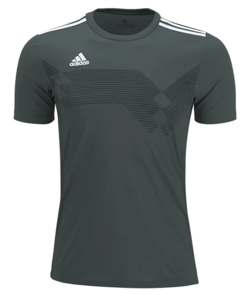 adidas Youth Campeon 19 Jersey - Dark Grey Heather/White - IMAGE 1