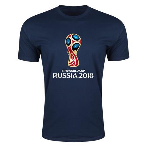 adidas World Cup 2018 Tshirt - Navy - IMAGE 1