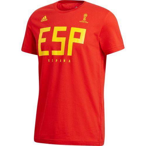 adidas Spain World Cup 2018 Tee - IMAGE 1