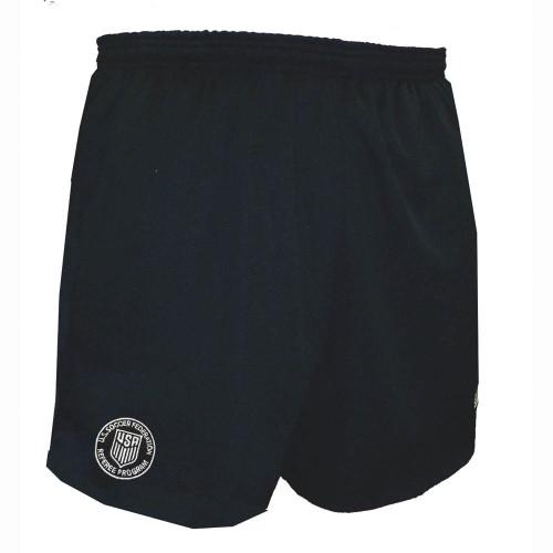 Official Sport USSF Logo Short - Black - IMAGE 1