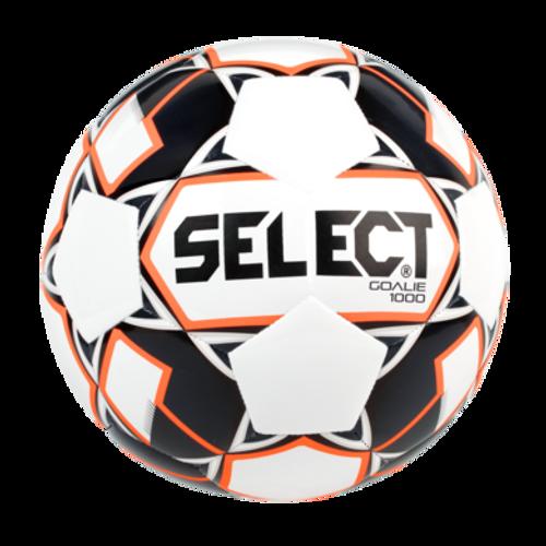 Select Weighted 1000 Gram GK Trainer Ball - White/Black/Orange - IMAGE 1