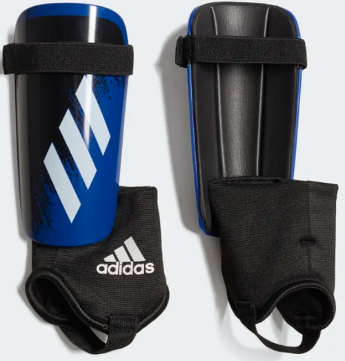 adidas X Match Shinguard Junior - Team Royal/Black - IMAGE 1
