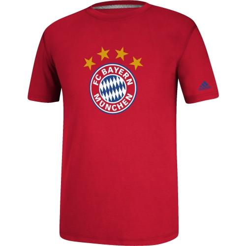 adidas Bayern Munich Crest Tee - IMAGE 1