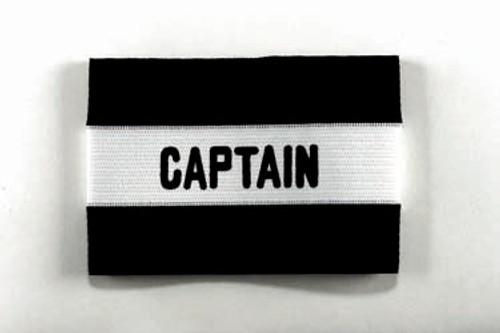 KWIKGOAL Youth Captain Arm Band - Black - IMAGE 1