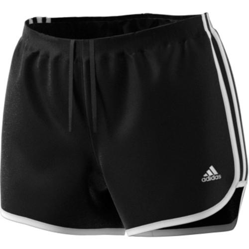 adidas Women's Marathon 20 Short - Black/White - IMAGE 1