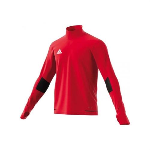 adidas Tiro 17 Training Top - Bold Red/White - IMAGE 1