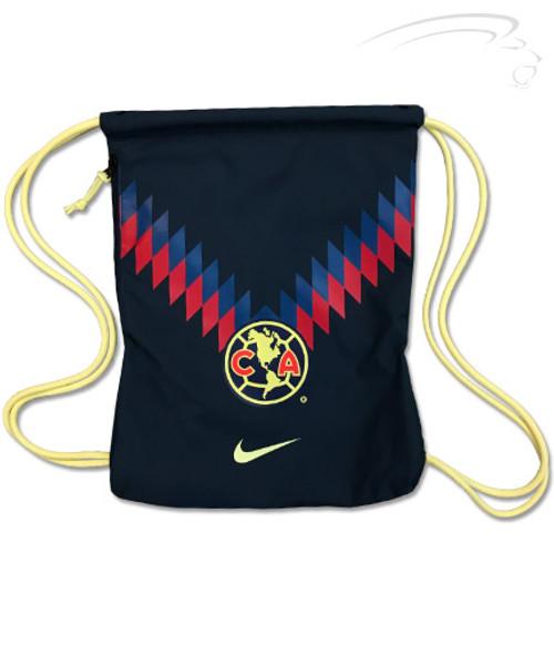 Nike Club América Stadium Gym Sack - Armory Navy/Lemon Chiffon/Lemon Chiffon - IMAGE 1