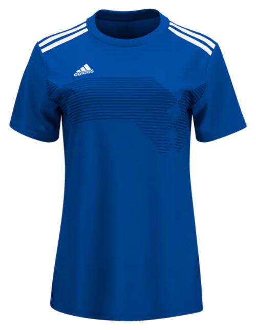 adidas Women's Campeon 19 Jersey - Bold Blue/White - IMAGE 1