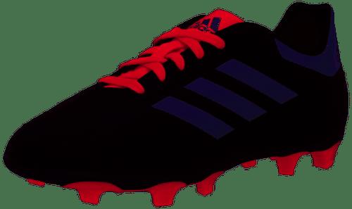 adidas Junior Goletto VI FG - Black/White/Scarlet - IMAGE 1