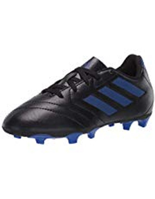 adidas Goletto VII Junior FG - Core Black/Team Royal Blue - IMAGE 1