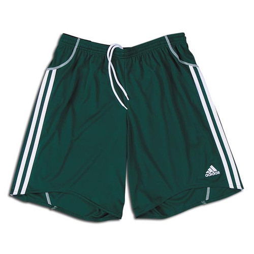 adidas Women's Equipo Short - Forest/White - IMAGE 1