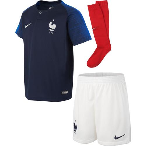 Nike France 2018 Home Mini Kit - IMAGE 1