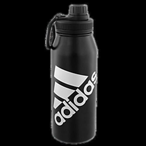 adidas Steel 1L Metal Bottle - Black - IMAGE 1