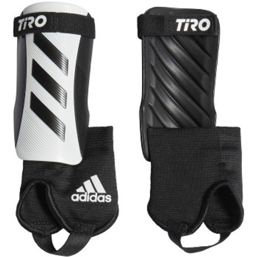 adidas Tiro Match Junior Shinguard - White/Black - IMAGE 1