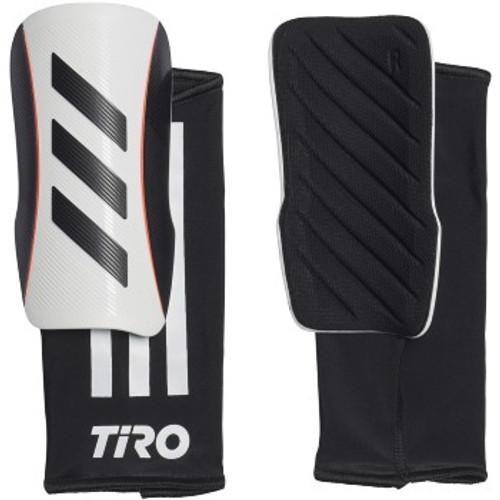 adidas Tiro League Adult Shinguard -  White/Black - IMAGE 1