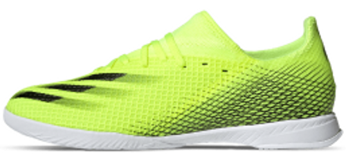 adidas X Ghosted .3 Indoor - Solar Yellow - IMAGE 1