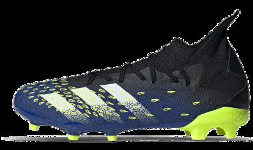 adidas Predator Freak .3 FG - Black/White/Royal - IMAGE 1