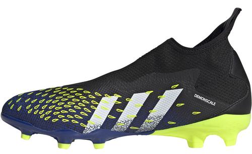 adidas Predator Freak .3 Laceless FG - Black/White/Royal - IMAGE 1