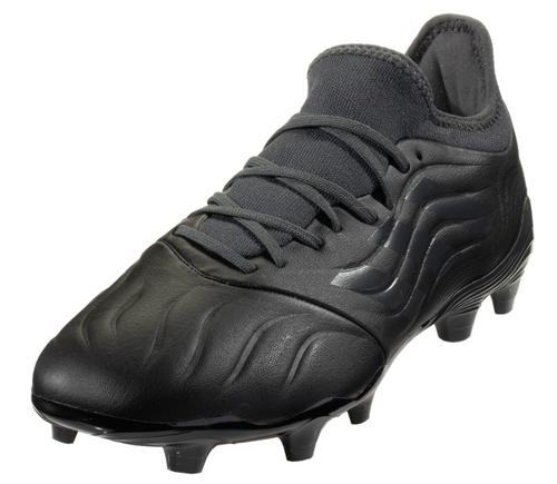 adidas Copa Sense .3 FG - Black/Black/Grey - IMAGE 1