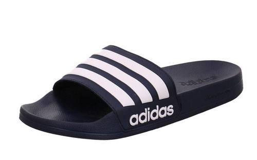 adidas Adilette Slides - Navy/White - IMAGE 1