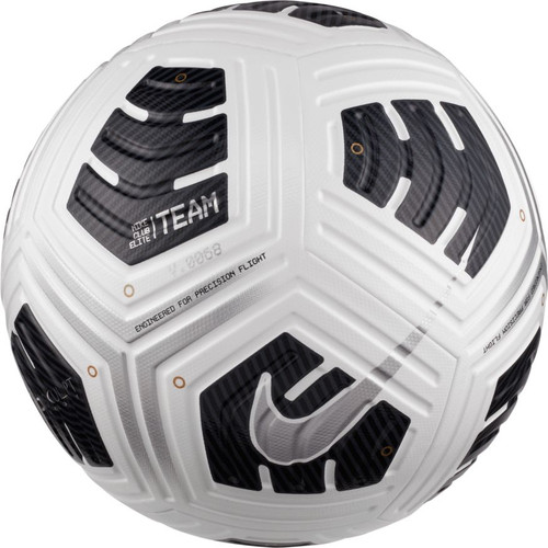 Nike NFHS Club Elite Team Ball - White/Black/Silver - IMAGE 1