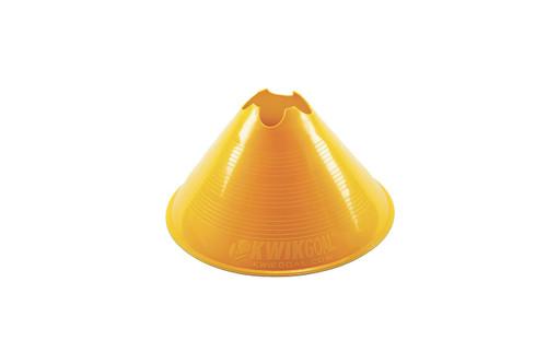 KwikGoal Jumbo Disc Cone - Yellow - IMAGE 1