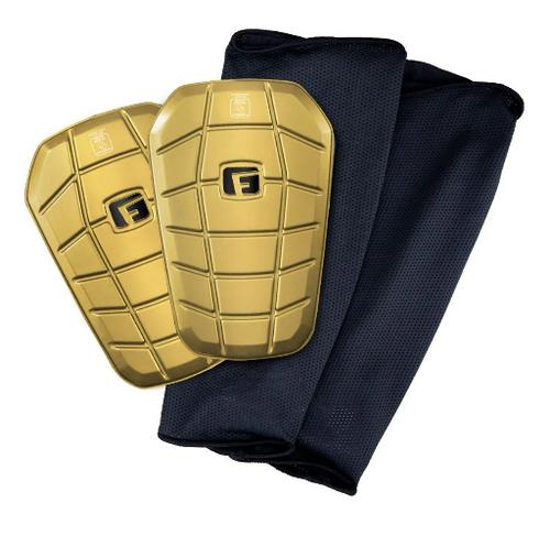 G-Form Pro-S Clash Shin Guards - Gold - IMAGE 1