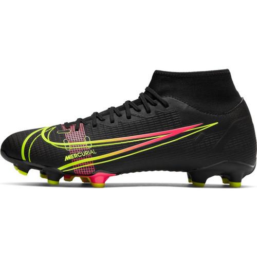 Nike Mercurial Superfly 8 Academy FG - Black/Cyber - IMAGE 1
