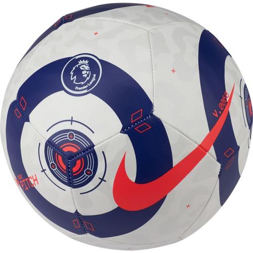 Nike Premier League Pitch Ball - White/Blue/Crimson - IMAGE 1