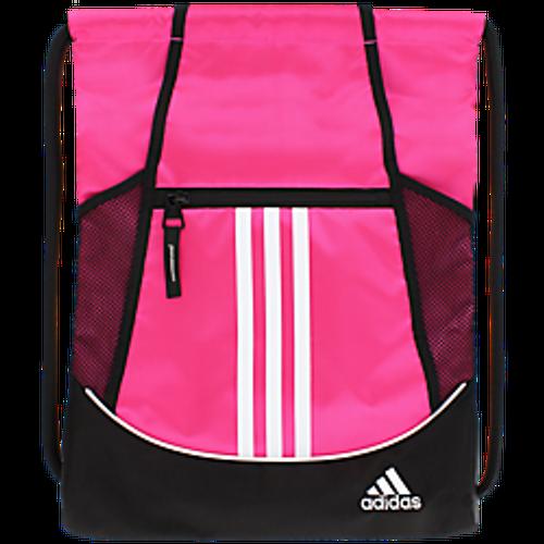 adidas Alliance II Sackpack - Shock Pink - IMAGE 1