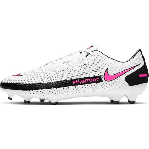 Nike Phantom GT Academy FG - White/Pink/Black - IMAGE 1