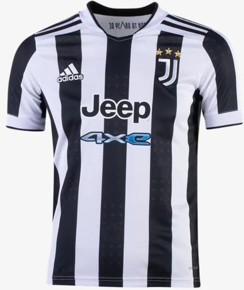 adidas Juventus Youth Home Jersey 21/22