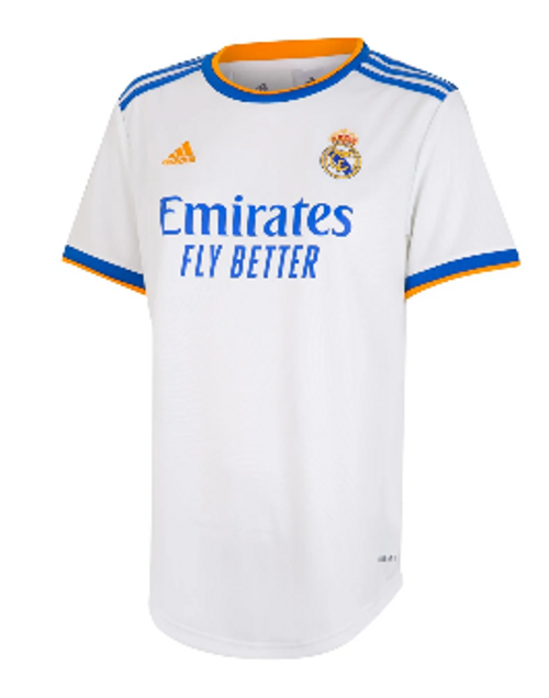 adidas Real Madrid Women's Home Jersey 21/22