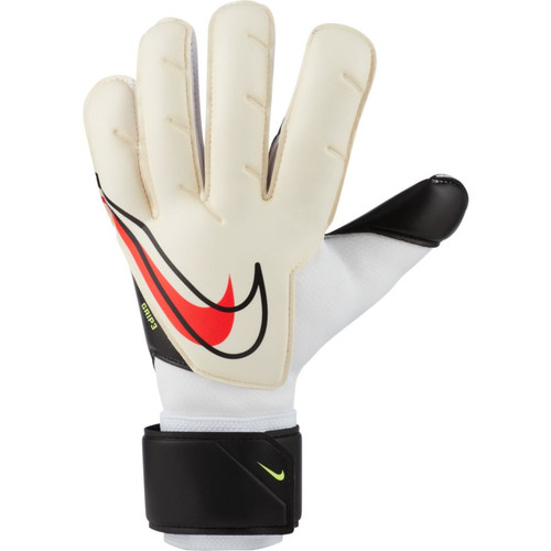Nike Grip 3 Goalkeeper Glove - White/Black/Crimson