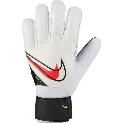 Nike Goalkeeper Match Glove - White/Black/Crimson