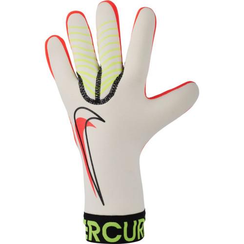 Nike Mercurial Touch Victory Goalkeeper Glove - White/Volt/Crimson