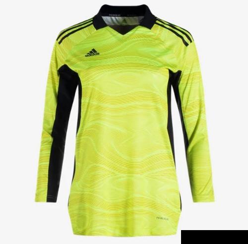 adidas Women's Condvio 21 GK Jersey LS - Acid Yellow