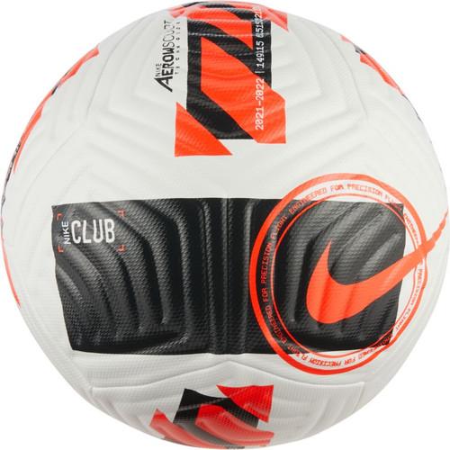 Nike Club Ball - White/Black/Bright Crimson