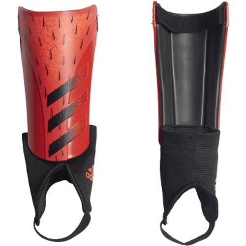 adidas Predator Match Shinguard JR - Red/Black