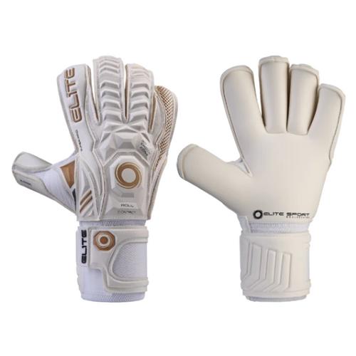 Elite  Real GK Gloves - White
