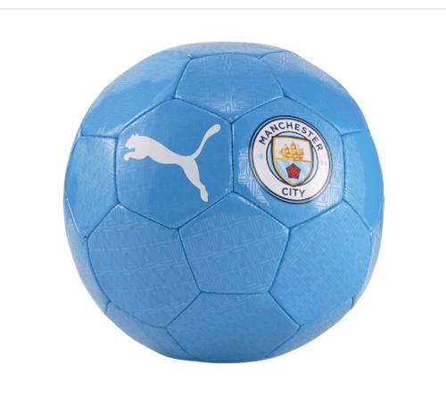 PUMA Manchester City Fan Ball - Team Light Blue/White