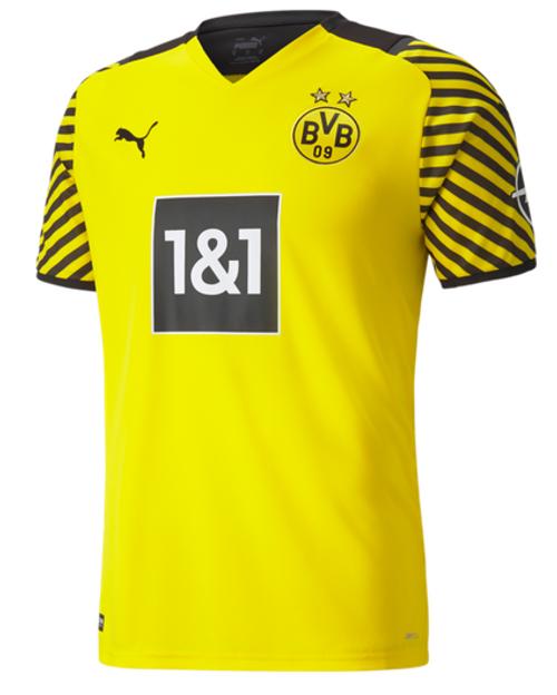 PUMA Borussia Dortmund Home Jersey 21/22