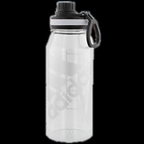 adidas SuperLite 1L Plastic Bottle - Clear/Black