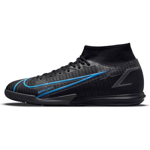 Nike Mercurial Superfly 8 Academy Indoor - Black/Iron Gray