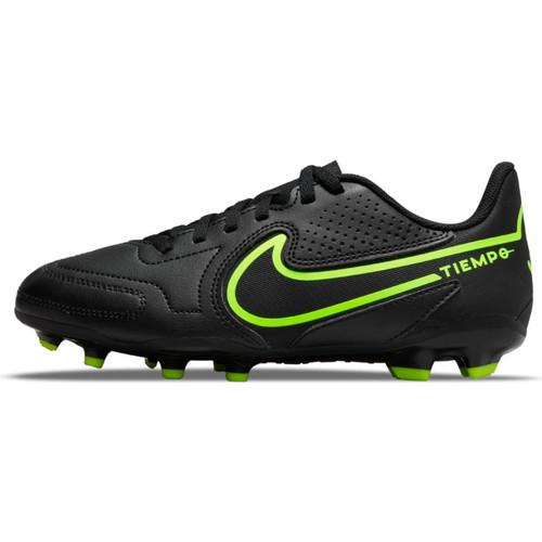 Nike Junior Tiempo Legend 9 Club -  Black/Volt