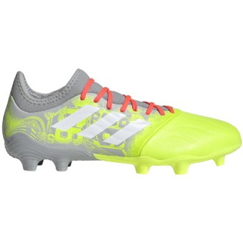 adidas Copa Sense.3 FG - Clear Onix/White/Solar Yellow