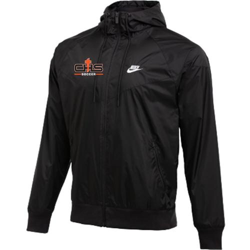 Nike Catholic Team Windrunner Jacket - Black