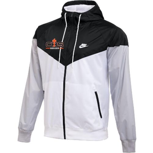 Nike Catholic Team Windrunner Jacket - Black/White/Grey
