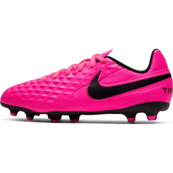 Nike Junior Tiempo Legend 8 Club - Pink Blast/Black - IMAGE 1