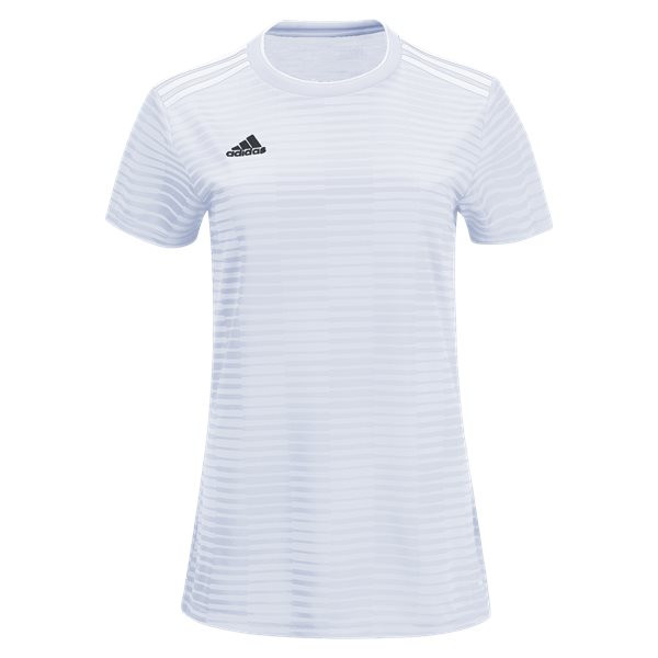 adidas Women's Condivo 18 Jersey -  White/White